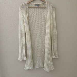 Intuitions Women's Cardigan Long Knit Sweater